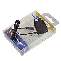 Зарядное устройство сетевое microUSB Samsung i9100 ETAOU10EBE Black -13407