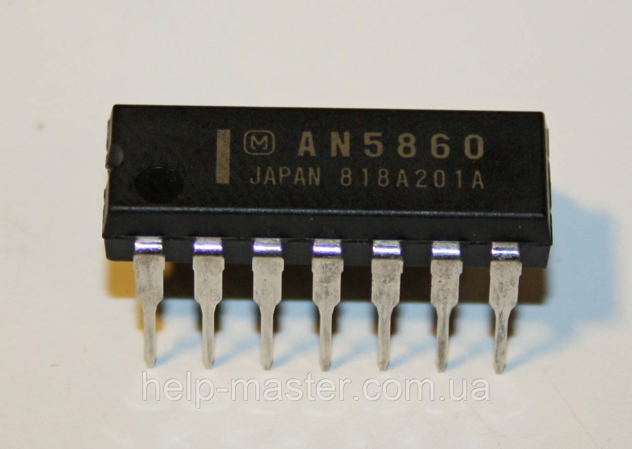 AN5860; (DIP-14)