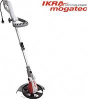 Электрический триммер Ikra Mogatec IGT 600 DA, 600 Вт, ширина стрижки-32 см, диаметр лески-1,4 мм, 2,5 кг