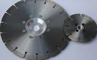 Алмазный отрезной сегментный круг Diaprom «СУХОРЕЗЫ» 230х2.4х10х22.2 с флянцем