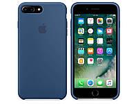Накладка для iPhone 7 Plus силикон Оригинал (copy) Blue