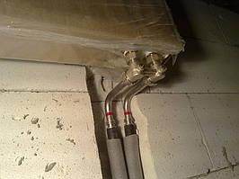 Радиаторы с нижним подключением, минимум торчащих труб