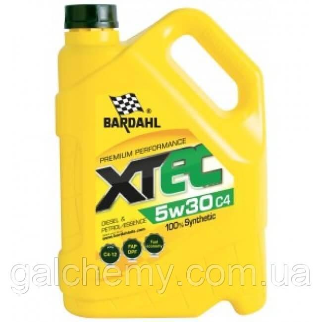 Моторне масло Bardahl XTEC 5W30 C4 5 л (36153)