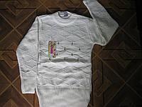 Детские теплые свитера - тунички для девочки  4-5, 8-9 лет Турция