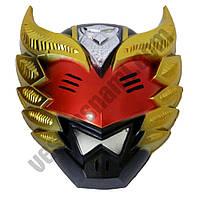 Маска пластик Elemental красная ( маска на хєллоуин )