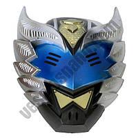 Маска пластик Elemental синяя ( маска на хєллоуин )
