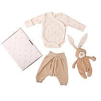 Набор одежды с игрушкой Wooly organic