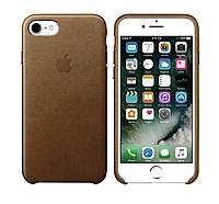 Оригинальный коричневый кожаный чехол для Iphone 7 Plus