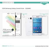 Защитная пленка Samsung A500H Galaxy A5 прозрачная Nillkin (Анти-отпечатки)