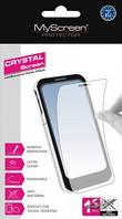 Защитная пленка Samsung G800 Galaxy S5 mini Crystal antiBacterial прозрачная MyScreen (SPMSSG800CAB)