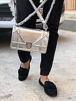 """Стильная сумочка Dior """"Diorama"""" Cruise 2017 21 см лаковая"""