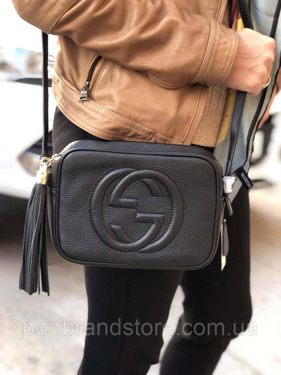f6c97a6dbfcc Сумочка Гуччи SOHO DISCO BAG (реплика) - Pop Brand Store | брендовые сумки,