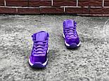 "Женские кроссовки Nike Air Jordan 11 ""Purple Velvet"" (Реплика ААА+), фото 3"