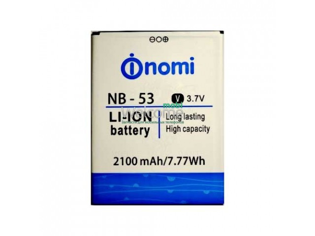 Аккумулятор Nomi NB-53 для Nomi i502 (2100 mAh) батарея для телефона с