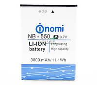 Аккумулятор (батарея) Nomi NB-550 для Nomi i550 (3000 mAh)