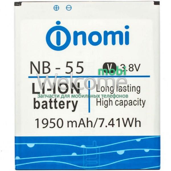 Аккумулятор Nomi NB-56 для Nomi i503 (2000 mAh) батарея для телефона с