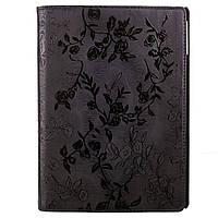 Чехол-Книжка Apple iPad Air TTX (360 градусов) BLACK Flowers черный