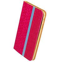 Чехол-Книжка Samsung T330/ T331 Galaxy Tab 4 8.0 PRC розовый