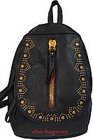 Женский рюкзак с вышивкой на клапане, фото 1