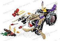 Конструктор Ниндзя 10318 Разрушитель клана Анакондрай Bela Ninja 10318 аналог конструктора Lego Ninjago 70745