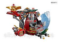 Конструктор Bela 10398 Ninjago Корабль Ронана R.E.X.(аналог Lego 70735), 546 деталей