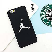 Накладка для iPhone 7 пластик Jordan Черный