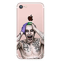 Накладка для iPhone 7 силикон 0,3mm Infinity Slim Glamour Joker