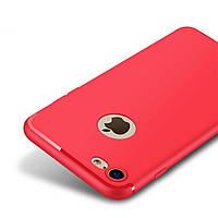 Накладка для iPhone 7 силикон 0,2mm Infinity Slim Красный