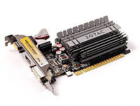 Видеокарта GeForce GT730, Zotac, Zone Edition, 4Gb DDR3, 64-bit, VGA/DVI/HDMI, 902/1600MHz, Low Profile, Silent (ZT-71115-20L)