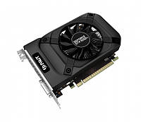 Видеокарта GeForce GTX1050Ti, Gainward, StormX, 4Gb DDR5, 128-bit, DVI/HDMI/DP, 1392/7000 MHz (NE5105T018G1-1070F)