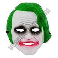 Маска Джокер пластик ( маска на хєллоуин )