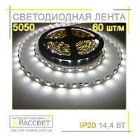Светодиодная лента 5050 60 диодов на метр без силикона