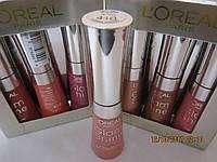 Блеск для губ L'oreal Paris Glam Shine Natural Glow (Лореаль Глем Шайн), 6 ml, 410 тон