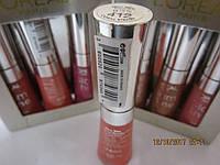 Блеск для губ L'oreal Paris Glam Snine Natural Glow (Лореаль Глем Шайн), 6 ml, тон 412