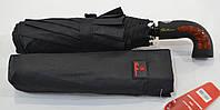 """Мужской зонт полуавтомат """"Bellissimo"""" на 10 спиц из фибергласса системы """"антиветер""""."""