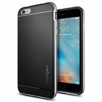 Накладка для iPhone 7 силикон Spigen Case Neo Hybrid Серебряный (SGP-042CS20520)