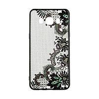 Накладка для Huawei P8 Lite 2017 Rock Tatoo Art Case Color Flowers