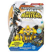 "Игрушка Бамблби Трансформеры Прайм ""Охотники на чудовищ"" Bumblebee, Deluxe, Hasbro, 15CM"