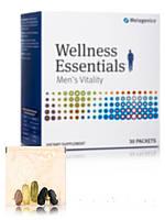 Основы Здоровья Мужская жизненность, Wellness Essentials Men's Vitality, Metagenics, коробка из 30 пакетов