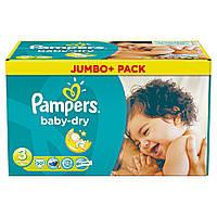 Детские подгузники Pampers Jumbo Pack Midi