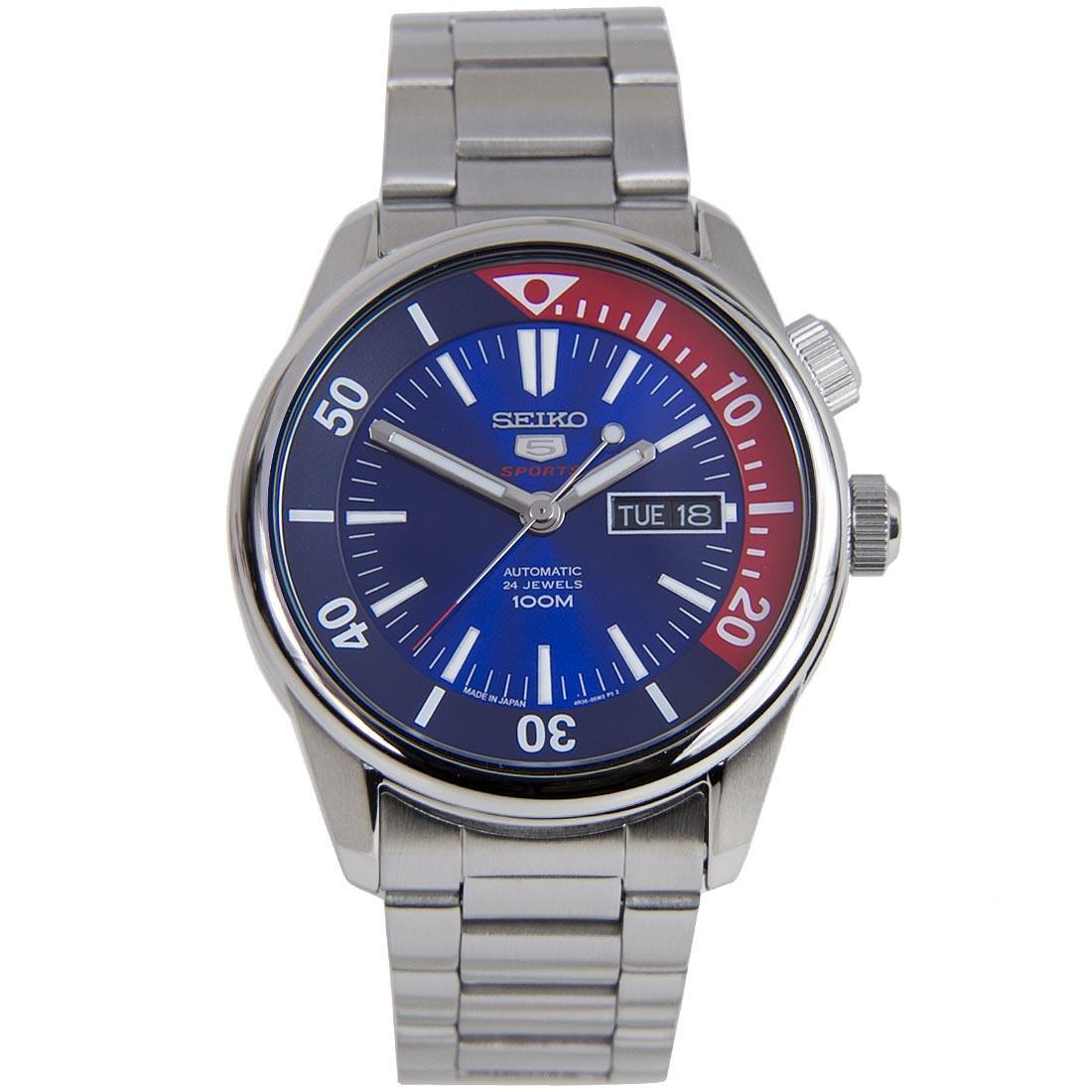 Часы Seiko 5 Sports SRPB25K1 Automatic 4R36