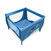 Детский игровой манеж Baby Design Play 03 2014, голубой манеж