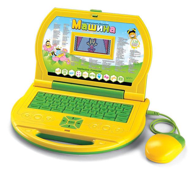 Детский компьютер 20279ERC Пчелка русско-английский, цветной дисплей