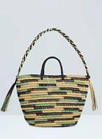 Соломенная сумка Mango