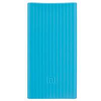 Чехол для дополнительного аккумулятора 20000 mAh Xiaomi Power Bank силикон Blue
