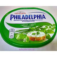 Сыр Филадельфия Philadelphia Original с зеленью - 125 г