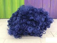 Карнавальный парик Клоуна синий