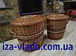 Корзина для белья,овальная, плетенная из лозы, фото 5