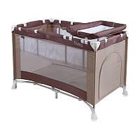 Манеж-кровать  PENNY 2 LAYERS beige