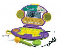 Детский компьютер 8852E/R русско-английский, с микрофоном